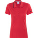 Craft In-The-Zone Polo Pique Bike Jersey Shortsleeve Women red